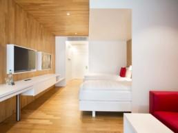 Lifestyle Doppelzimmer Hotel Säntispark
