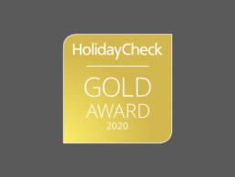 HolidayCheck Gold Award